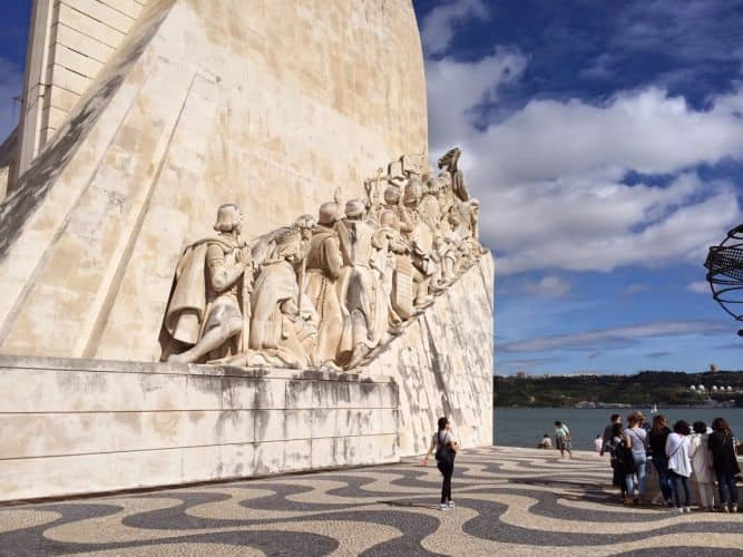 The monument to the Discovers, in Belem, Lisbon Portugal.