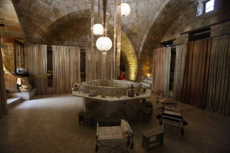The Omeriye Baths remain as authentic as they can having been built thousands of years ago.
