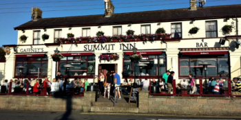 The Summit Inn is one of Howth's most popular pubs to watch the football and rugby matches. Go Leicester!