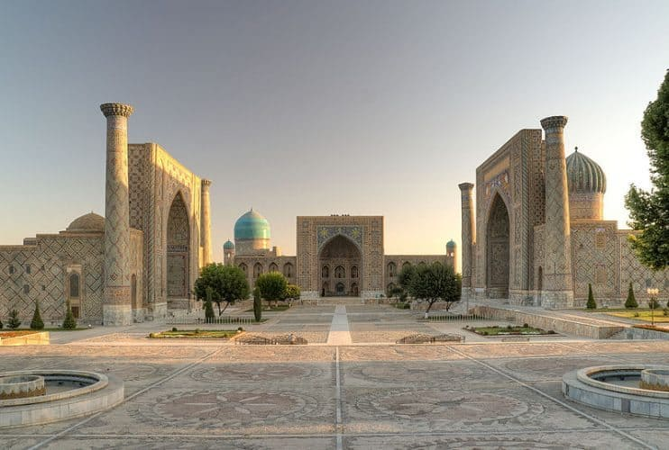 Samarkand, Uzbekistan: A city full of ancient wonders along the Silk Trail.