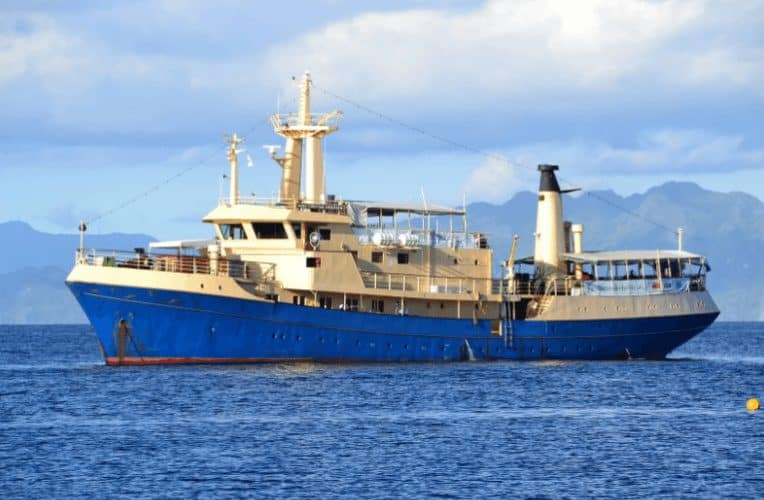 Philippines: Diving and Relaxing on a Liveaboard Ship