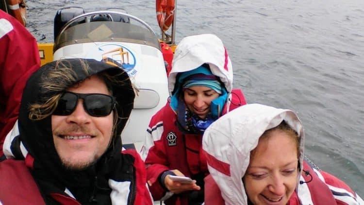 Strangford Lough's amazing tides provide a thrilling ride.