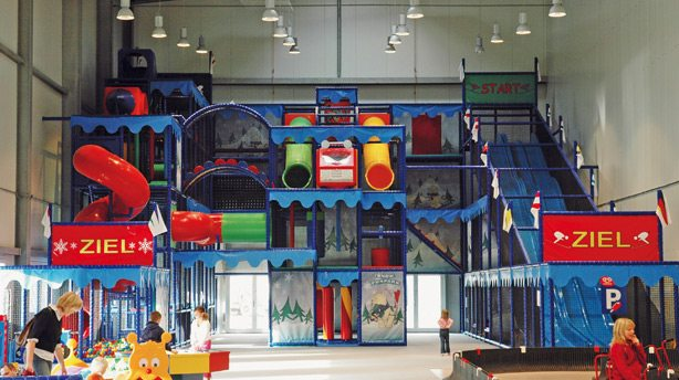 Indoor Playground at Toni's Adventure World at Alpin Center in Germany