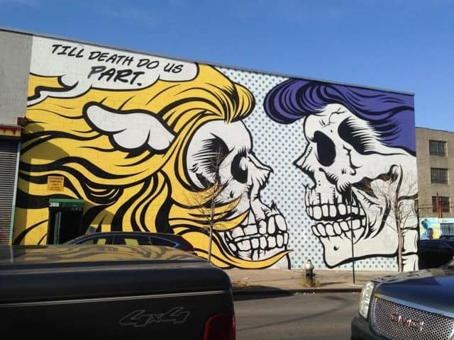 One of the local tour guide's favorite street art.