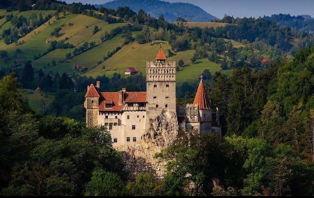 Dracula's castle. Karen Melnick photo.