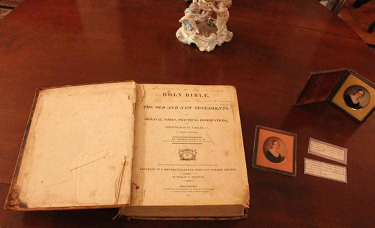 Mary Todd Lincoln's Bible.
