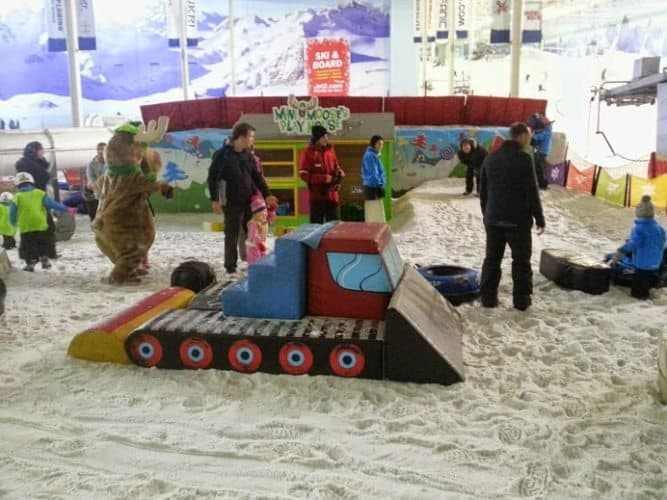 The Mini Moose Playland at Chill Factor in Manchester.