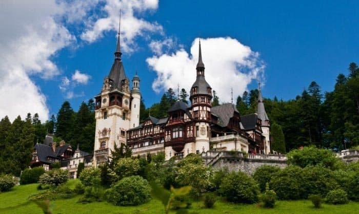 Peles Castle in Romania. Karen Williams photo.