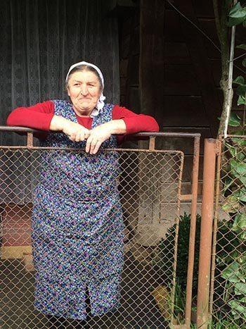 A proud farmer in the Maramures area of Romania.