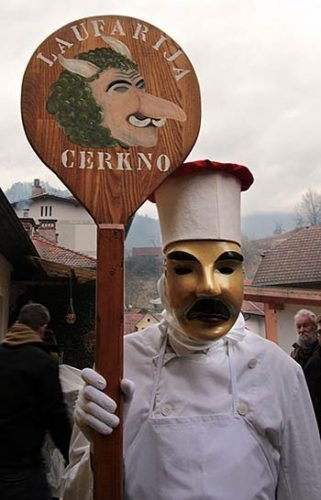 The baker plays an essential role in the carnival.