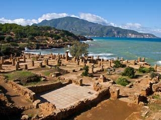 Coastline in Algeria
