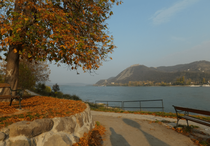 Visegrad on the Danube near Budapest, Hungary.