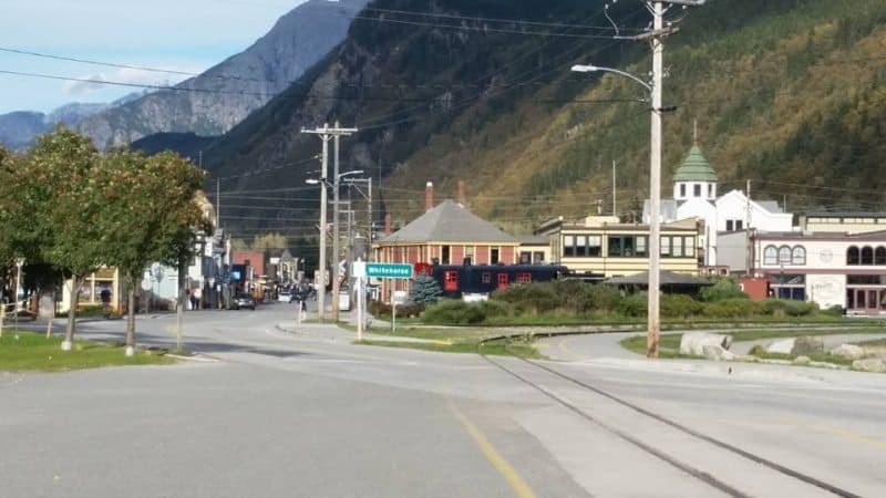 Downtown Skagway, Alaska. Kay Vandette photo.