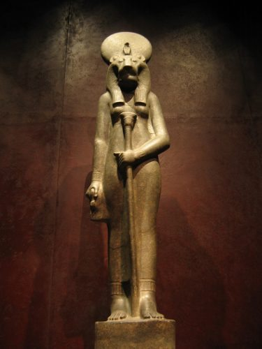 One of the many treasures in Turin's Egyptian museum.