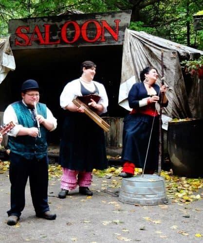 The Liarsville Gang are all seasonal workers, in Skagway, Alaska. Lisa Ann Gaylord photo.