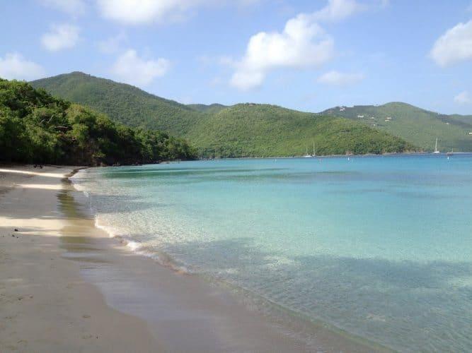 Mary Point Beach, St John, US Virgin Islands.