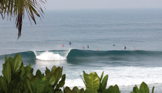 Southern Sri Lanka waves are perfect for the intermediate surfer.