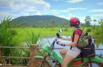 Siem Reap, Cambodia Motobike Tour