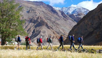 Hike Himalayan Desert and Discover Wildlife