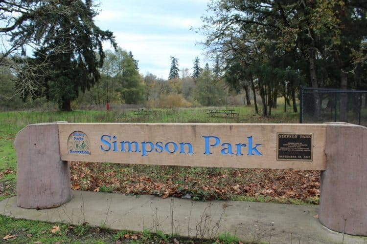 Simpson Park/Talking Water Gardens