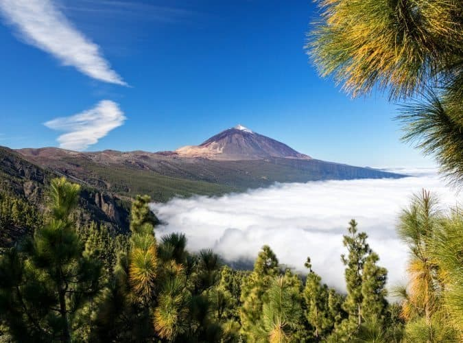 Mount Teide volcano, Tenerife