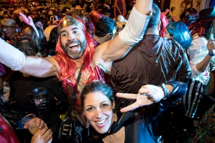 The wild carnival in Tenerife, Canary Islands. Photos by Paul Shoul