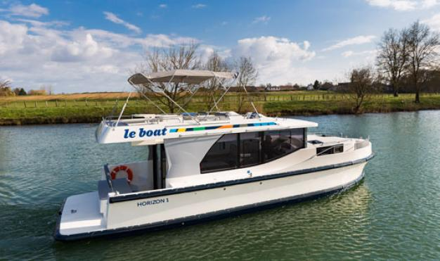 The Horizon is the type of cruiser that is most popular amongst Le Boat customers.