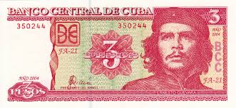 Cuba's regular pesos, used by Cuban citizens, have heroes pictured on them.