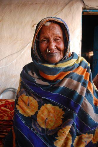 Sheikha, a healer in Sudan.
