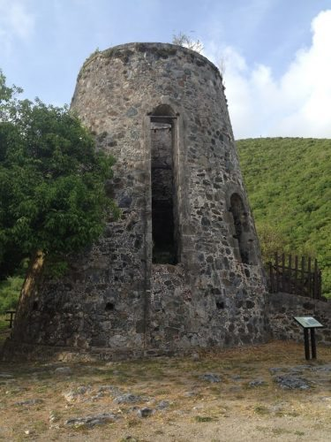 Annaberg Sugar Plantation ruins has a self-guided tour highlighting the historical aspects of St. John.