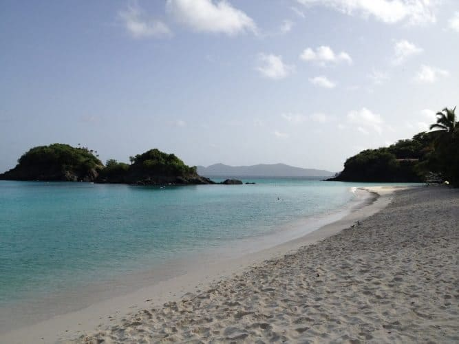 Trunk Bay before the crowds descend.