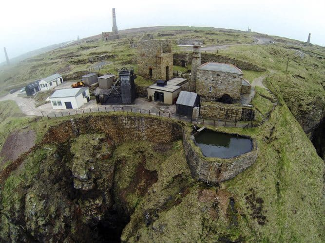 Levant Mine on the Tin Coast in Cornwall