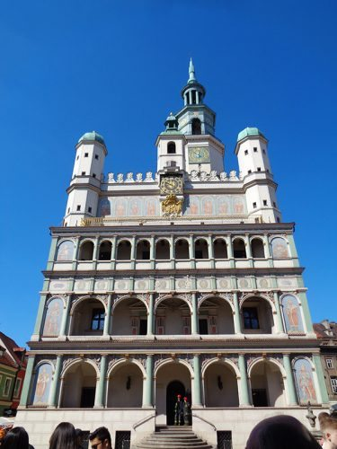 City Hall in Poznan. Poland.