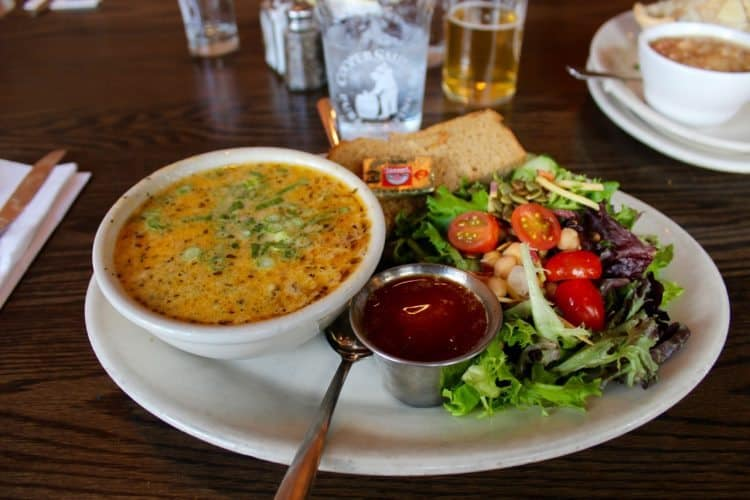 Coopersmith's brewpub food