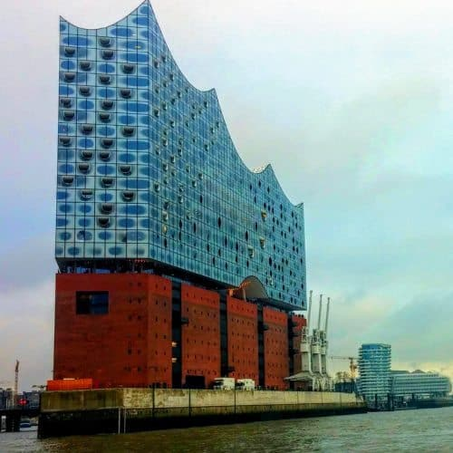 Elbphilharmonie concert hall graces the harbor in Hamburg, Germany. Christopher Ludgate photos.