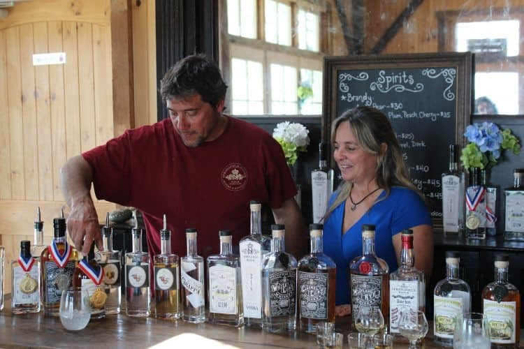 Frederick, MD: Four Micro-distilleries and a Flying Dog