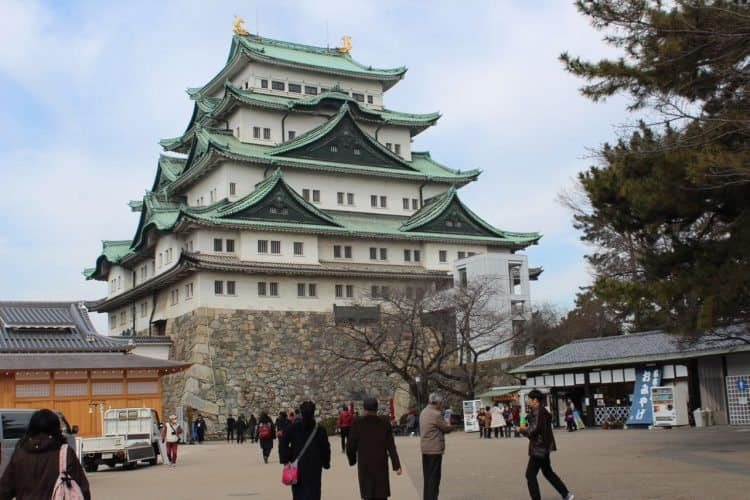 Nagoya castle in central Japan. Andrew Castillo photo.