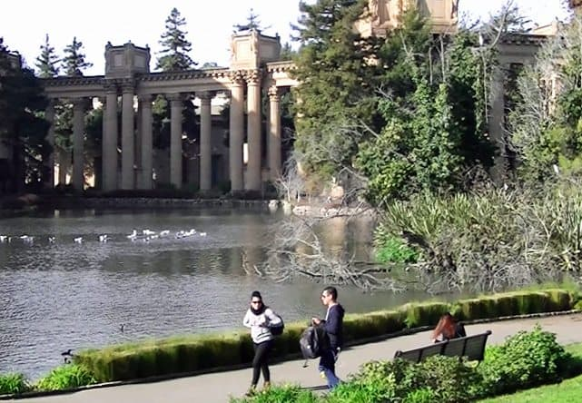 Palace of Fine Arts, Marina district