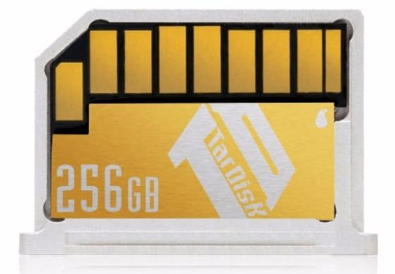 "The TarDisk 256 GB Storage Expansion Card fits in all MacBook 13"" Ai devices."