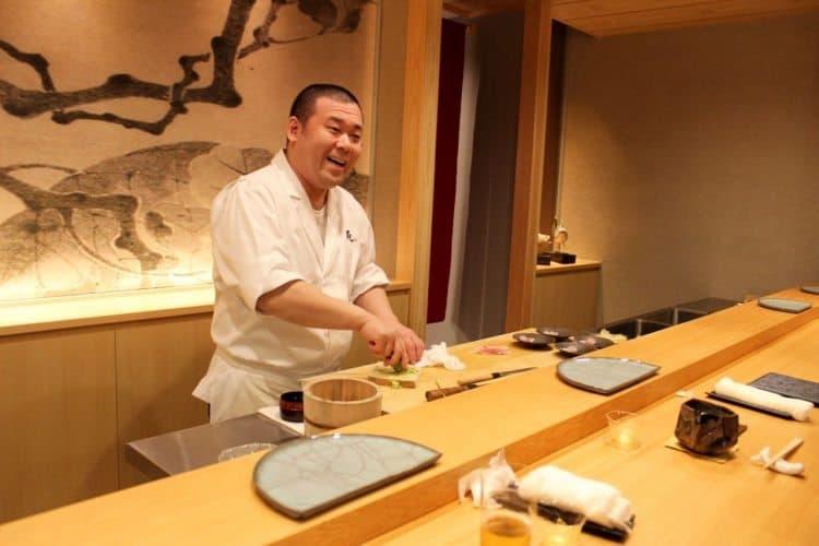 Chef Tobichi of restaurant Tobi in Kanazawa