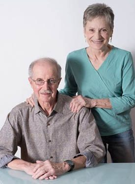 Dennis James and Barbara Grossman