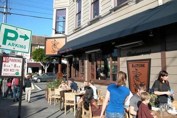 Eastside Westside cafe in Cow Hollow, SF.
