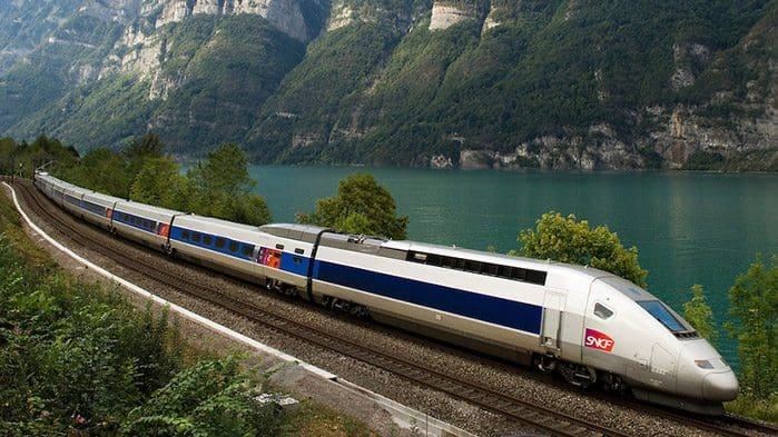 The Eurail connects 26 European railway systems, allowing travelers to get to and from country to country with ease.