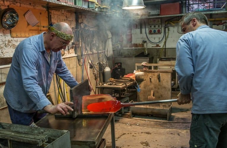 To watch a molten piece of glass become an original work of art is nothing short of fascinating.