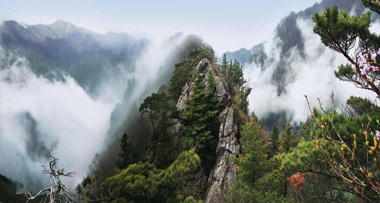 Mount Myohyang is one of the many natural wonders in North Korea that is left unseen by most travelers.