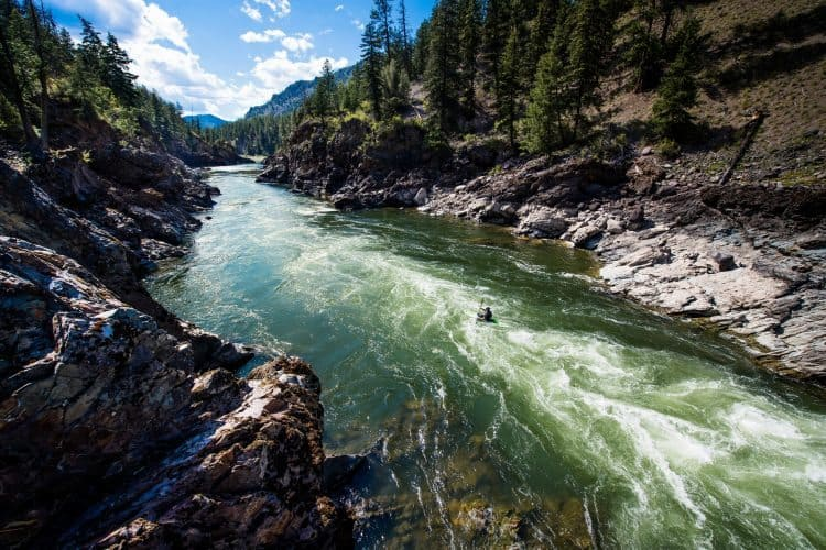First Descents takes cancer patients and caregivers down whitewater rapids in Montana and many other locations around the US, at no charge.