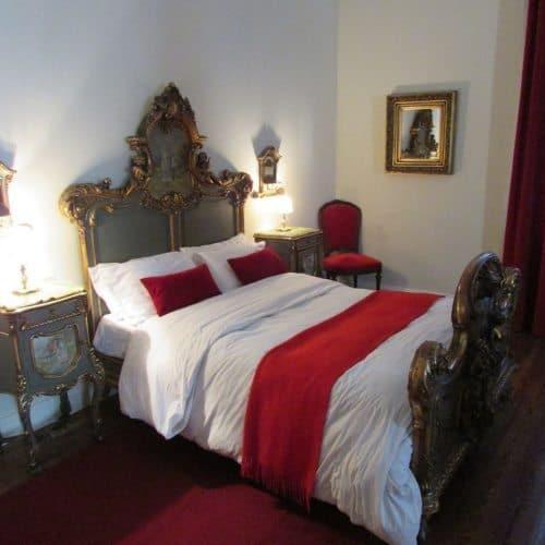 A private bedroom at the Estancia La Candelaria. Joe David photo