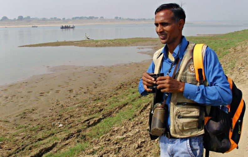 Chambal Naturalist Bachchu Singh.