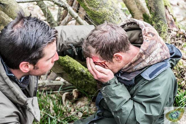 What would you do if suddenly you faced a dire emergency in the wild? frontierbushcraft.com photo