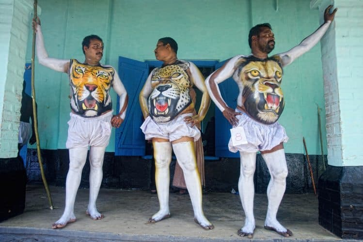 India: Pulikali Festival, the Tiger Dance